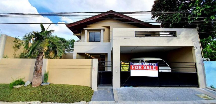 2 Storey House and Lot for Sale at BF Homes, Las Pinas City