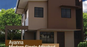 Ayanna Single Attached at Althea Residences – House and Lot for Sale in Binan, Laguna